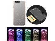 Fashion Sense Flash LED light Color Change Case Cover For Apple IPhone 6 4.7'' Inch