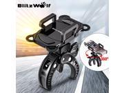 BlitzWolf Motorcycle MTB Bike Bicycle Handlebar Mount Holder For Cell Phone GPS 9SIV0E26D14913