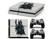 Pattern Series Decals Skin Vinyl Sticker for PS4 Decal Skull Soldier 9SIV0ED4FM8217