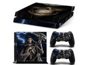 Pattern Series Decals Skin Vinyl Sticker for PS4 The Grim Reaper 9SIA8V74M41282
