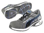 PUMA SAFETY SHOES 642595 SZ: 10EEE Athletic Style Work Shoes, Gry, 10, Cmpt, PR