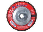 UNITED ABRASIVES-SAIT 78125 Arbor Mount Flap Disc, 5in, 36, ExtraCoarse