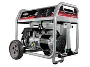 BRIGGS & STRATTON 030622 Portable Generator, Rated Watts 5000, 305cc