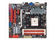 Biostar TA75M+ DDR3 2000 USB3 SATA3 AMD FM1 A75 MATX Motherboard