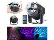 RGB LED Digital Crystal Magic Ball Rotating Stage Light DJ CLub Party DMX512 9SIV0N55612191