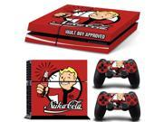 Celeden Ps4 Designer Skin Decal For Playstation 4 Console System And Ps4 Wireless Dualshock Controller - Fallout 4 - Nuke Cola
