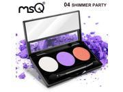 MSQ Latest Products 3 Colors Eyeshadow Palette Professional Matte Makeup Palette For Fashion Beauty 9SIAB0U48E4056