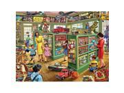 Toy Store 1000 Piece Puzzle by White Mountain Puzzles 9SIV0W74VR0648
