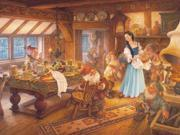 Snow White and the Seven Dwarves 400 Piece Puzzle by Outset Media 9SIV0W74VR4257