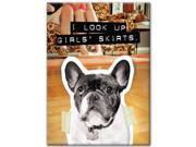 French Bulldog Girl Skirts Magnet by Hot Properties 9SIV0W74VP7325