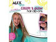 ALEX Color and Glow Hair Clip Ons by Alex 9SIA7WR4SW6021