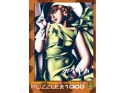 Young Girl in Green Tamara De Lempicka 1000 Piece Puzz by Eurographics 9SIV0W74VR4678