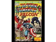 Captain American Vintage Print by Asgard Press 9SIA7WR4TV0051