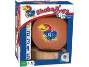 University of Kansas Shake n Score Dice Game by Masterpieces Puzzle Co. 9SIV0W74VP7399