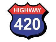 Highway 420 Magnet by NMR Calendars 9SIV0W74VP8181