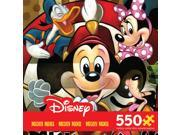 Puzzle - Ceaco - 550 Piece Disney Mickey Mouse Lead of the Club Games Toy 2319-2 9SIV0W74VR2218