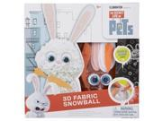 Secret Life of Pets 3D Fabric Snowball by Alex 9SIV0W74VP9239