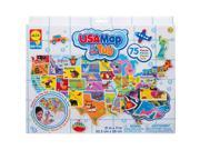 USA Map in the Tub Toy by Alex 9SIV0W74VR0426