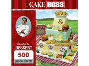 Cake Boss Devoted to Dessert 500 Piece Puzzle by Masterpieces Puzzle Co. 9SIV0W74VR0562