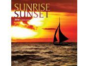 Sunrise Sunset Wall Calendar by BrownTrout 9SIV0W75XR3736