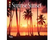 Sunrise Sunset  Mini Wall Calendar by BrownTrout 9SIV0W75ZD4174