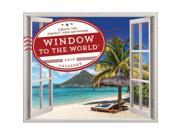 Window to the World Wall Calendar, Globetrotter by Sourcebooks