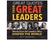 Great Quotes from Great Leaders Desk Calendar, More Inspiration by Sourcebooks