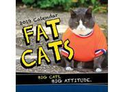 Fat Cats Wall Calendar, Funny Cats by Sourcebooks