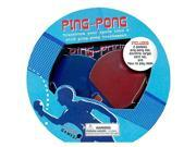 Ping Pong Book and Desktop Game, Desktop Games by Sellers Publishing Inc 9SIV0W77KF2271
