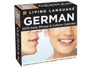 2019 German Living Language Desk Calendar,  by Andrews McMeel Publishing