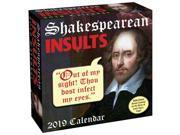 2019 Shakespearean Insults Desk Calendar, More Humor by Andrews McMeel Publishin