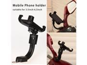 Universal Motorcycle Phone Holder Stand Motorbike rearview mirror Mount Bracket With Edge Protector for samsung huawei xiaomi LG 9SIV10D6JA6846