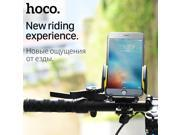 HOCO CA14 Bicycle Phone Holder Handlebar Bike Universal Phone Holder Motorcycle Phone Mount Stand Holder for Mobile Phone iPhone 9SIV10D6JA6256