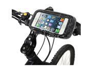 Waterproof Bike motorcycle phone holder Mount For Huawei Samsung iPhone LG Smartphone GPS Universal Mobile phone Support movil 9SIV10D6JA7723