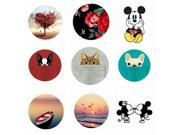 Fashion Lovely Round POP Phone Holder for Iphone 7 6 5S phone Support Mobile Phone Stand For xiaomi redmi note 4x 9SIV10D6JA5592