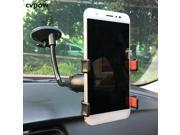 Universal Car phone holder vehicle mounted mobile phone bracket double clamp hose suction cup mobile car phone stand 9SIV10D6JA7701
