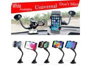 Universal Dual Clip Car Windshield Windscreen Suction Cup Mount Stand Phone Holder For iPhone 6 Samsung s6 HTC Sony LG Nokia GPS 9SIV10D6JA8672