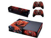 Spiderman design skin for Xbox one decal sticker console 9SIV10D6YE9936