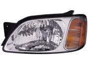 NEW Headlight Head Lamp Assembly Left Driver 1592001