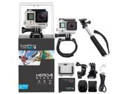 GoPro Hero4 Black Edition Camera HD Camcorder  +  Hand Mount + Selfie Stick