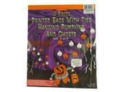 Club Pack of 960 Pumpkin and Ghost Hanging Halloween Bag Decorations 9SIV15E6AD7078