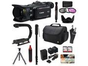 Canon XA35 HD Professional Video Camcorder + Action Kit with XGrip and HandGrip Handles + Bag + Extra Battery 9SIV16R65K9646