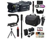 Canon XA30 HD Professional Video Camcorder + Action Kit with XGrip and HandGrip Handles + Bag + Extra Battery 9SIV16R65K9458