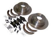 Crown Automotive 52098666K Disc Brake Service Kit Fits 99-04 Grand Cherokee (WJ) 9SIV18C6WY6789
