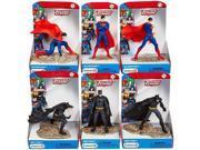 Schleich Superman vs Batman 6-Piece Set 9SIA17P70W0236