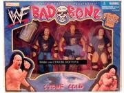 WWF / WWE - 1998 - Bad to the Bonz Set - Stone Cold Steve Austin - RARE - T-Shirt Edition - 3 Action Figures & Accessories - New - Limited Edition - Collectible 9SIV19773U0868
