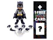 "Batman (1966 TV Version): ~5.5"""" Herocross Hybrid Metal Figuration Action Figure Series + 1 FREE Official DC Trading Card Bundle"" 9SIV19773U0526"
