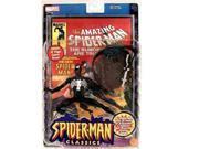 "Spider-man Classics BLACK COSTUME SPIDER-MAN 6"""" Action Figure (2000 Toy Biz)"" 9SIV19773U0823"