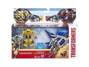 Transformers 4 Bumblebee and Dinobot Strafe 2-Pack Age of Extinction 9SIV19773T9965