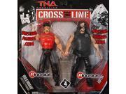 HULK HOGAN & ABYSS - CROSS THE LINE 2-PACKS 4 TNA TOY WRESTLING ACTION FIGURES 9SIA17P77U3170